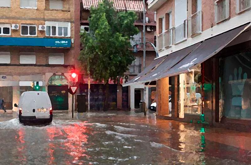 Asesoramiento técnico para la reclamación al seguro por daños por lluvias